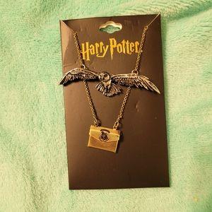 Harry Potter Acceptance Letter necklace NWT
